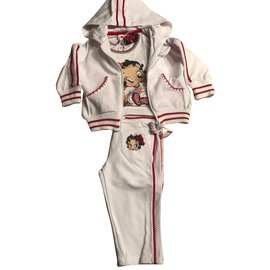 Monnalisa-JOGGING MONNALISA BETTY BOOP NEUF-Multicolore