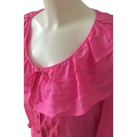 Chanel-Blouse-Pink