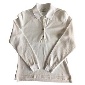 Hermès-Polo Hermes-Blanc
