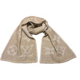 Louis Vuitton-Echarpe mohair-Beige