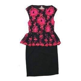 Alice + Olivia-Dresses-Black,Pink