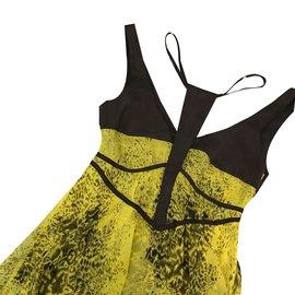 Sass & Bide-Dresses-Yellow,Dark grey
