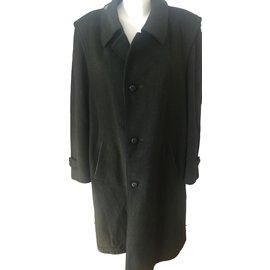 Burberry-Men Coats Outerwear-Khaki