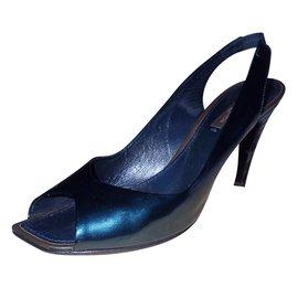 Louis Vuitton-Sandales-Bleu