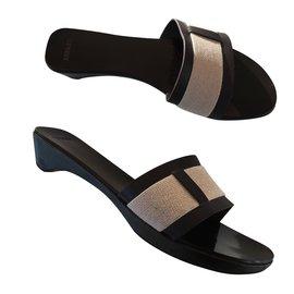 Hermès-Sandales-Marron