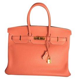 Hermès-Birkin 35-Rose