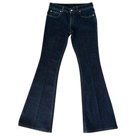 Gucci-Jeans-Bleu
