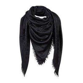 Louis Vuitton-Classical Monogram Scarf-Black ... 99157c8054d