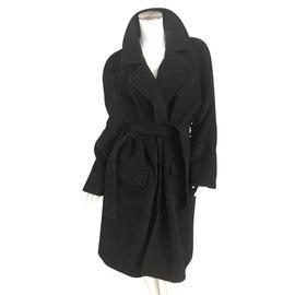 Hermès-Manteaux-Noir