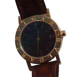 Bulgari-Quartz Watches-Golden