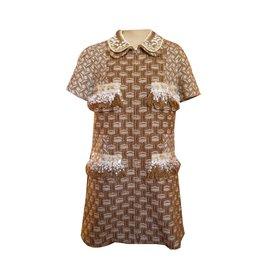 Louis Vuitton-Robe-Beige