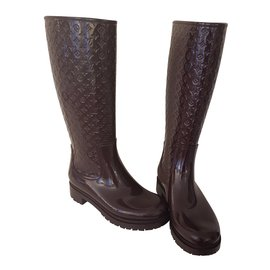 Louis Vuitton-Splash boot-Marron clair