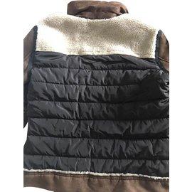 Zara-Blazers Jackets-Brown