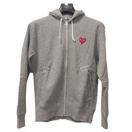 Comme Des Garcons-Sweaters-Grey