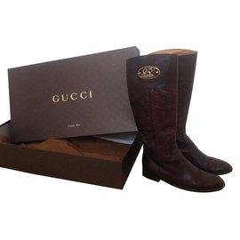 061c5f932fe Bottes Gucci occasion - Joli Closet
