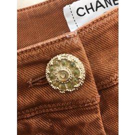 Chanel-Jeans-Orange