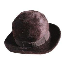 Burberry-Hats-Brown,Caramel