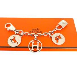 Hermès-Bag charms-Silvery