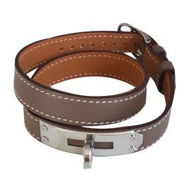 Hermès-Bracelets-Grey