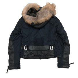 ... Parajumpers-Coats, Outerwear-Navy blue
