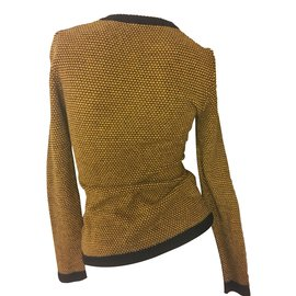 Hermès-Knitwear-Black,Yellow