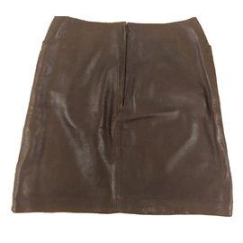 Chanel-Skirts-Dark brown