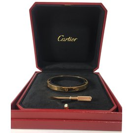 Cartier-Bracelet love-Doré