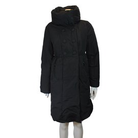 Moncler-Doudoune longue-Noir