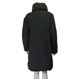 Moncler-Long down jacket-Black
