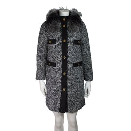 Moncler-Moncler Loth tweed coat-Autre