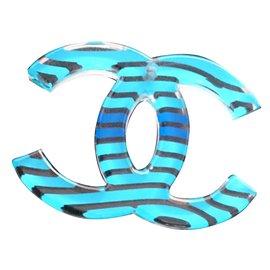 Chanel-Pendentif-Bleu