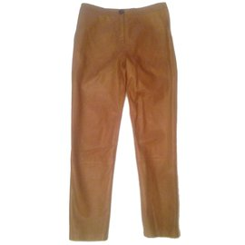 Yves Salomon-Pants, leggings-Beige