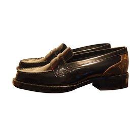 Louis Vuitton-Academy flat loafer-Noir