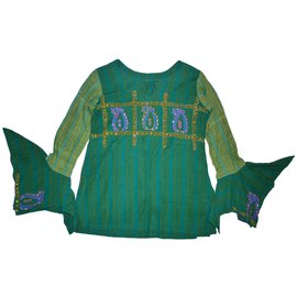 Autre Marque-Chemise Ruplagi-Vert