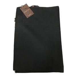 Gucci-Foulards-Noir