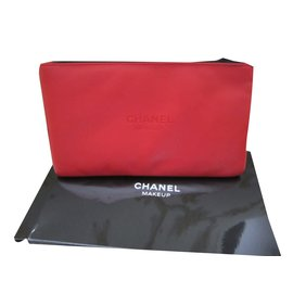 Chanel-Clutch bags-White,Red