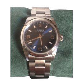 Rolex-Oyster perpetual-Bleu Marine