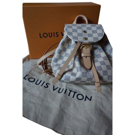 Louis Vuitton-SPERONE BB-Blanc,Gris anthracite