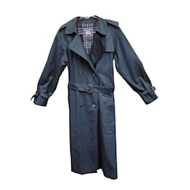 Burberry-Trench coats-Navy blue