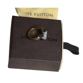 Louis Vuitton-Bague Essential V-Argenté,Doré