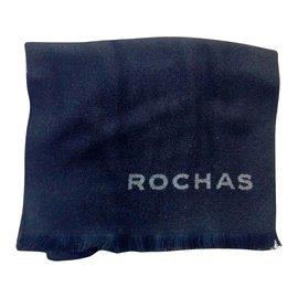 Rochas-Echarpes homme-Noir