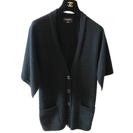 Chanel-Cardigan-Black