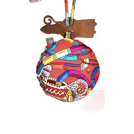 Hermès-Petit H-Multicolore