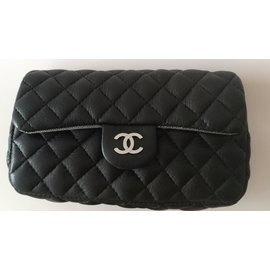 Chanel-Chanel clutch/beltbag-Black