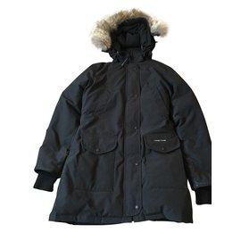 Canada Goose-Parka coat-Black
