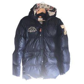 Scotch and Soda-Boy coats outerwear-Navy blue