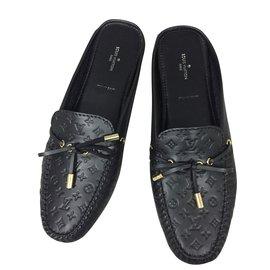 Louis Vuitton-Mules Gloria-Noir