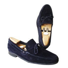 Tod's-Loafers Slip ons-Navy blue