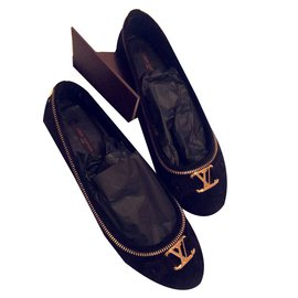 Louis Vuitton-Oxford Flat-Noir