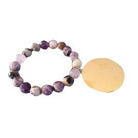 Rita & Zia-Bracelet-Violet